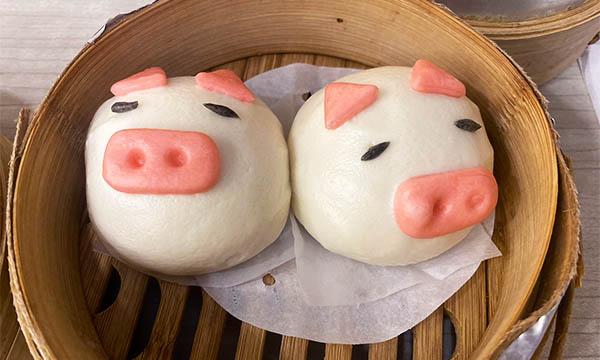 小豬芋泥包