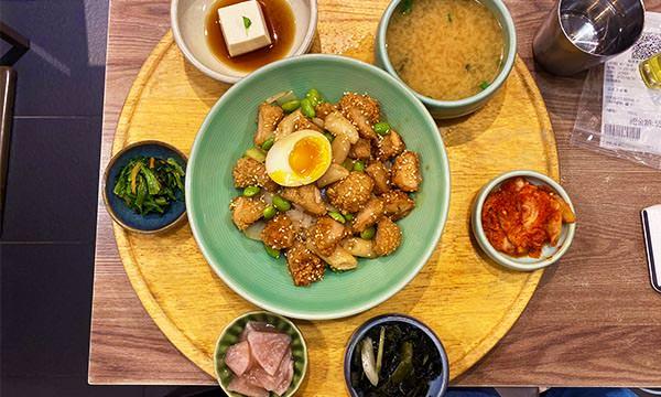首爾炸雞飯定食