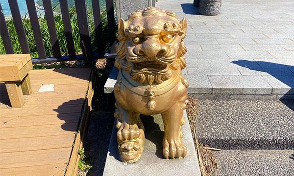 壁山觀景台 石獅子