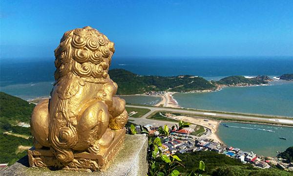 壁山觀景台石獅子