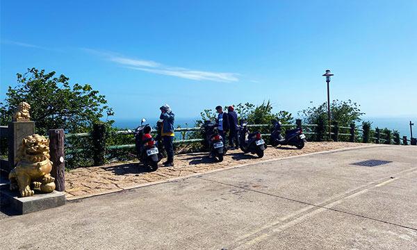 壁山觀景台 機車停車場