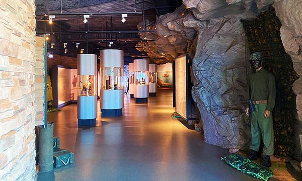 戰爭和平紀念公園主題館 內部