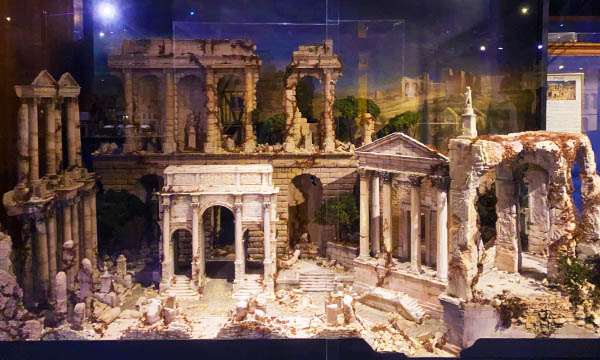 羅馬遺跡 袖珍博物館