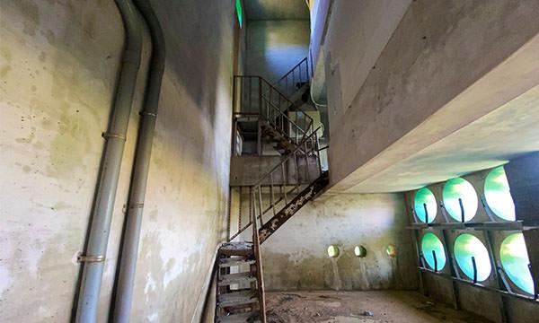 馬祖播音站樓梯