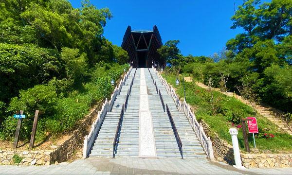 媽祖巨神像 樓梯