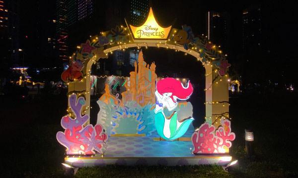 小美人魚燈飾