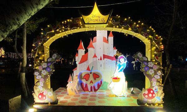白雪公主燈飾