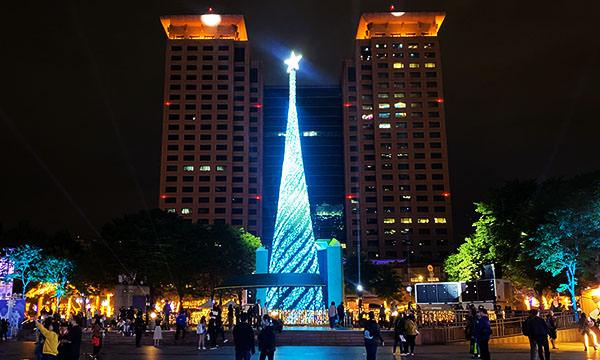 新北歡樂耶誕城 主燈