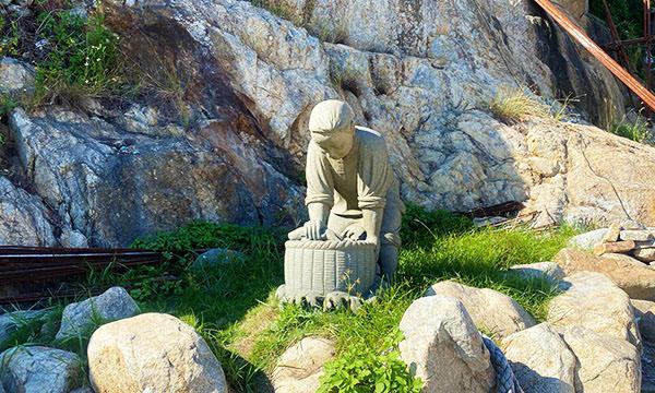 津沙聚落石像