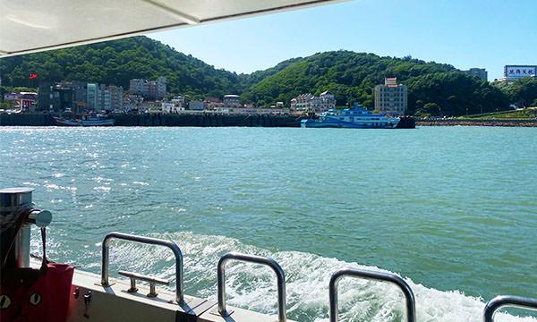 馬祖交通船海景