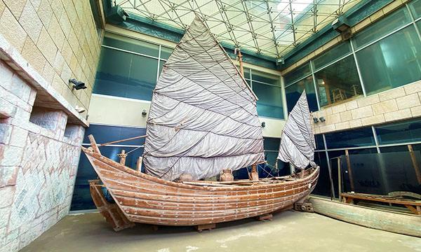 馬祖民俗文物館 大漁船