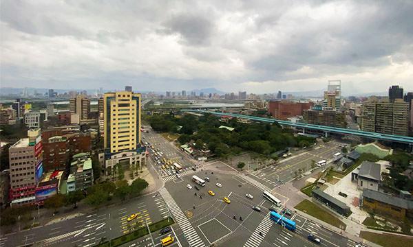 世民酒店20樓的風景
