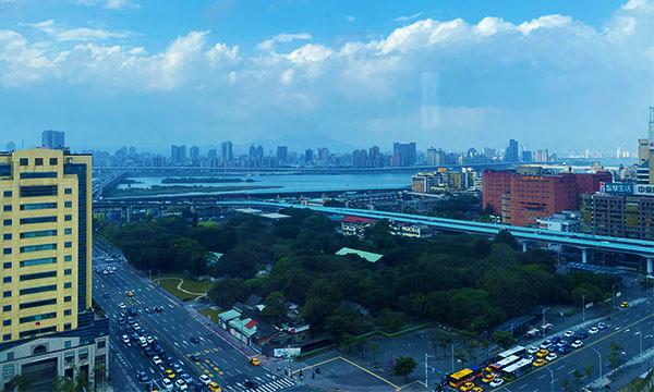 世民酒店 高層樓風景