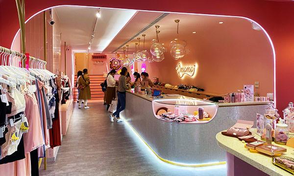 【台北購物】Qmomo 南西店 人氣內衣品牌店面體驗