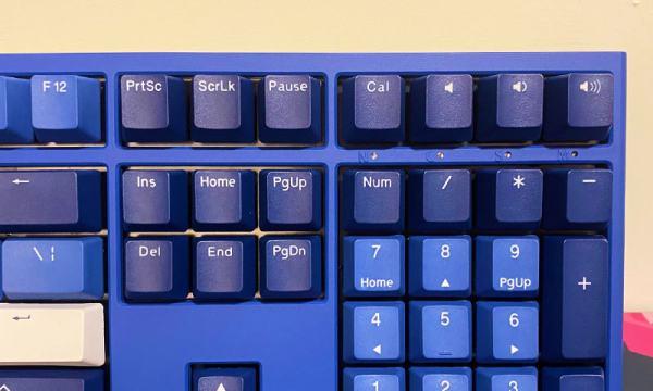 鍵盤的提示燈