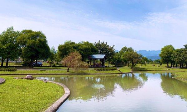 安農溪 風景區內的望湖亭