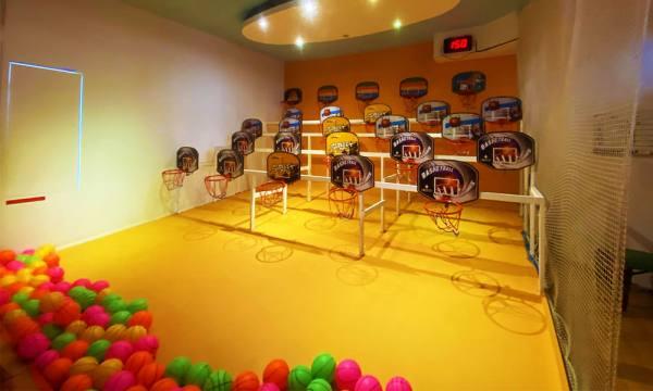 邱比準射擊博物館 射籃遊戲
