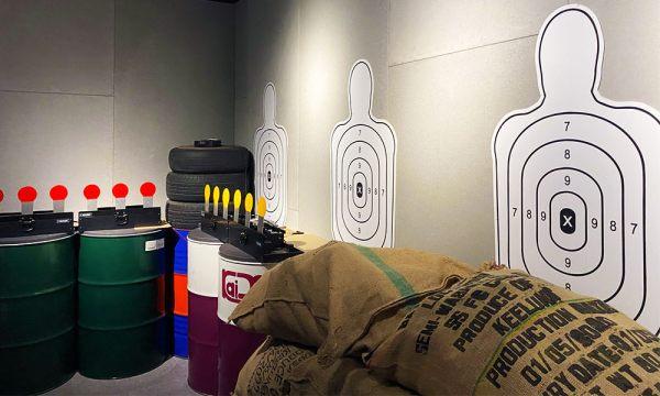 金特務007 輕兵器訓練場