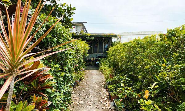 八樣 KAFFE 生活料理的庭院