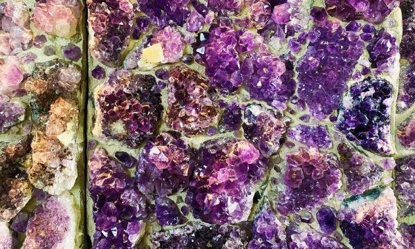 瘋狂夢想藝術園區 紫水晶牆