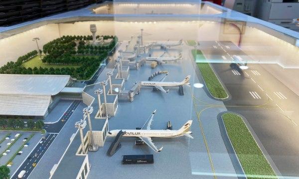 7-11星宇航空概念店 機場模型