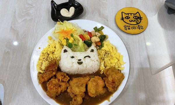 貓欸 炸雞咖哩飯