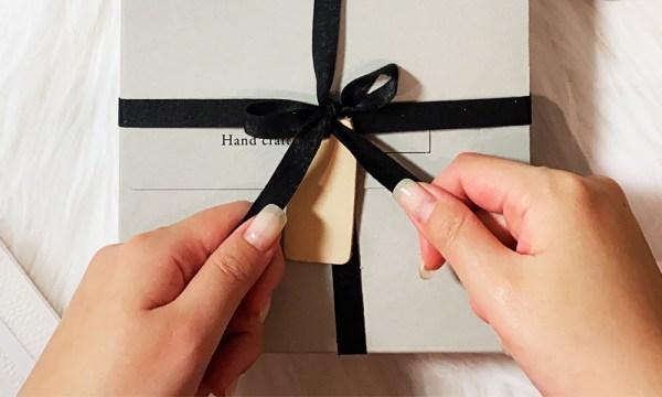 材料盒也是禮物盒