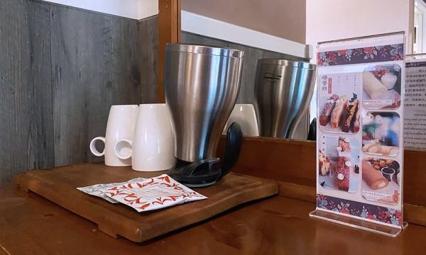 熱水壺與茶包