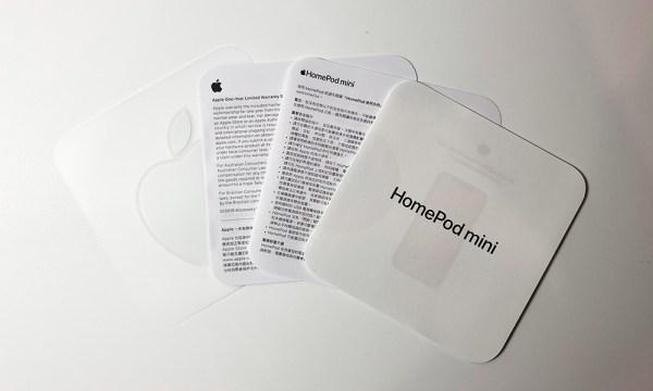 HomePod mini 說明書