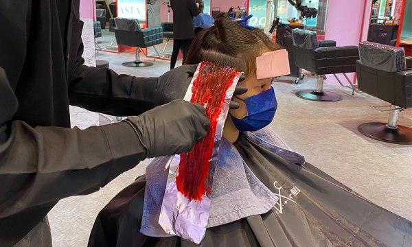 Wor hair桃園店染髮膏不刺鼻