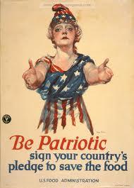WW1 - Be Patriotic - Poster
