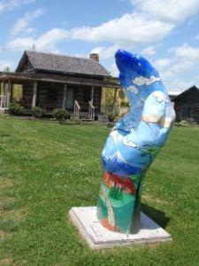 Berea, Kentucky combines art and history.