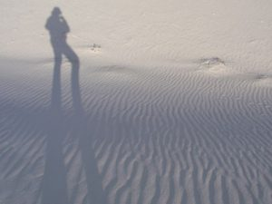 White Sands National Monument - Silhouette