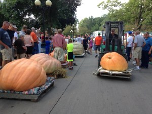 Iowa State Fair Giant Pumpkin