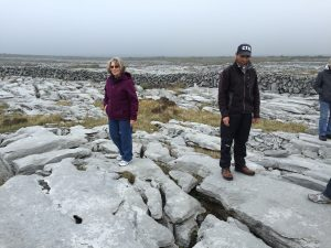 Can you imagine farming on this landscape? Our tour guide raises cattle on The Burren.