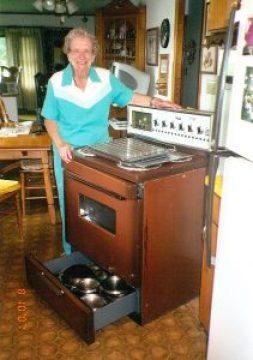 Mom's stove served her faithfully.