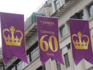 London History: the young Queen Elizabeth II