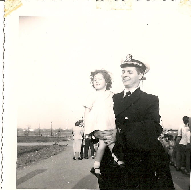 My father and me.