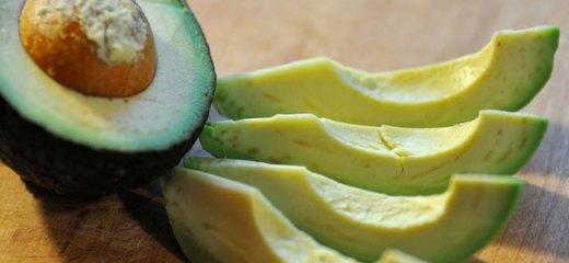 Mmm. Ripe avocado!
