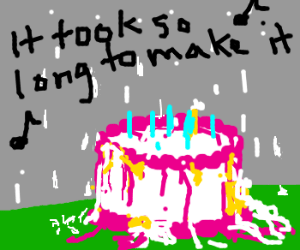 http://drawception.com/viewgame/MkSZxg3ezX/someone-left-the-cake-out-in-the-rain/