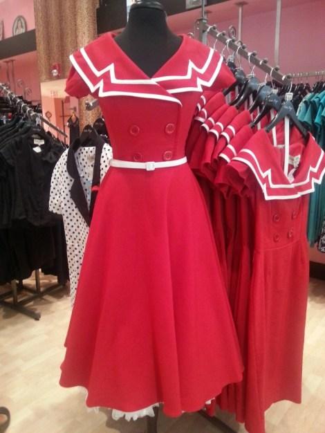 bette page retro dress