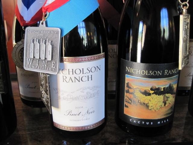 Nicholson wine winners CU
