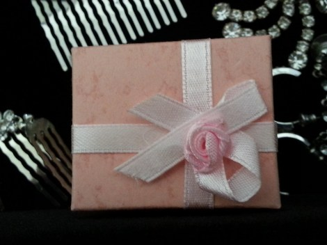 cute pink pkg