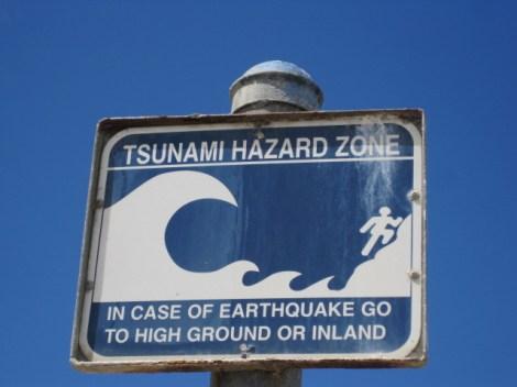 Tsunami hazard