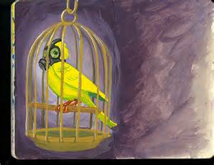 canary in the mine