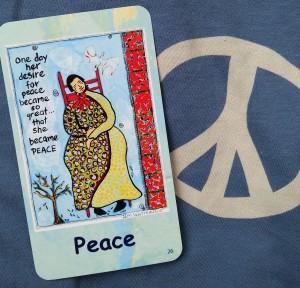 she became peace