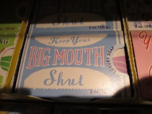 keep big mouth