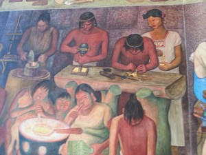 Diego Rivera: painting on walls