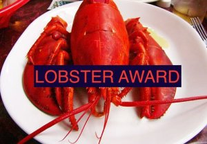 Riley's Lobster Award