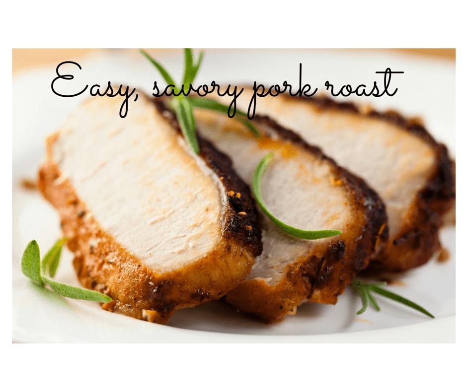 Easy Savory Pork Roast
